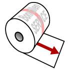 Thermorollen - Info zur Länge