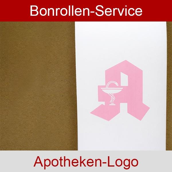Weitere Informationen zu Apothekenrollen, weiß, mit rotem Apotheken-A auf Vorderseite - 76 / 80 / 12 für Toshiba-TEC BRST-10