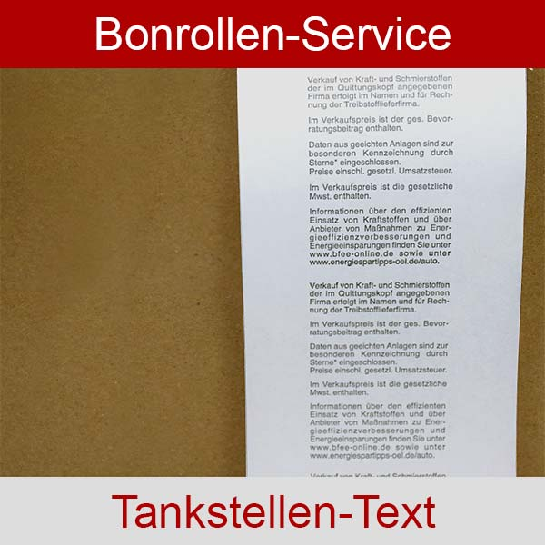 Weitere Informationen zu Tankstellen-Thermorollen, BPA-frei 80 / 80m / 12 für Epson TM-T20II