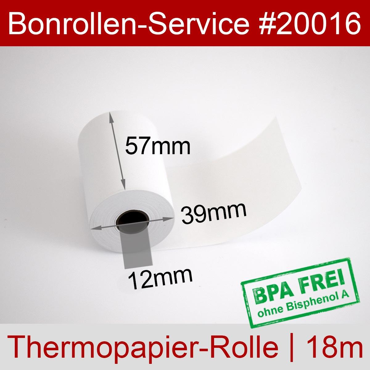 EC-Thermorollen BPA-frei 57 / 18m / 12 weiß, ohne Rückseitentext - Detailansicht