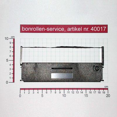 Detailansicht mit Rollenmaßen - Farbband-Kassetten ERC 31 - schwarz für Epson TM-H5000II (012)