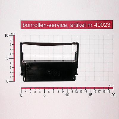 Skizze mit Rollenmaßen  - Farbband-Kassetten ERC 37 - violett für ADS-Anker ADS 14.5008