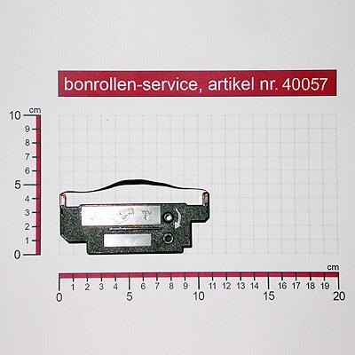 Skizze mit Rollenmaßen  - Farbband-Kassetten Citizen IDP-562 / IR-51 - violett für
