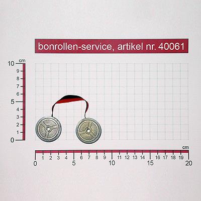 Detailansicht  - Farbbänder Gruppe 51 - schwarz/rot für Citizen DP-555