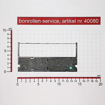 Detailansicht  - Farbband-Kassetten TEC MA-1450 / 1650, Gruppe 590 - violett für TEC MA-1450
