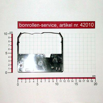 Weitere Informationen zu Farbband-Kassetten ERC 03, Gruppe 637, reinigungsfest - schwarz für Omron RS 3010