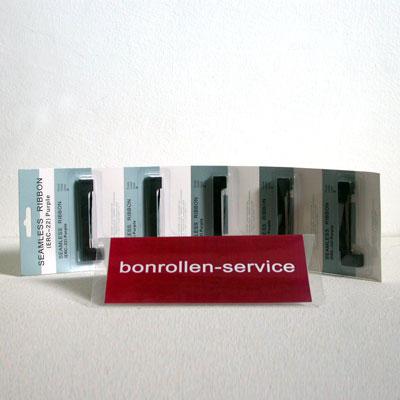 Produktfoto - Farbband-Kassetten ERC 22 - violett für Sartorius YDP10-0CE