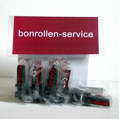 Produktfoto - Farbband-Kassetten ERC 30/34/38, Gruppe 655 - schwarz/rot für Uniwell TP 422