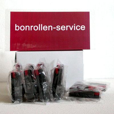 Produktfoto - Farbband-Kassetten Citizen DP-600 / IR-61 - schwarz/rot für Citizen DP-617
