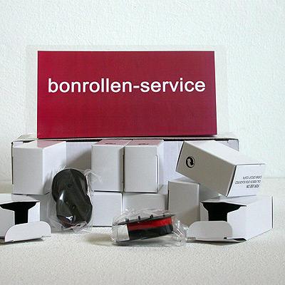 Produktfoto - Farbbänder Gruppe 51 - schwarz/rot für Sanyo ECR 480