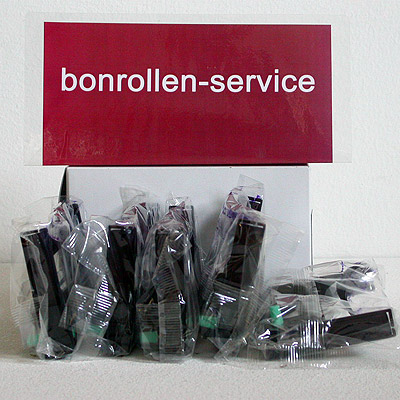 Produktfoto - Farbband-Kassetten TEC MA-1450 / 1650, Gruppe 590 - violett für TEC MA-1450